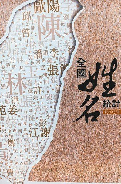 根據內政部資料,陳姓是十大姓氏中唯一破2百萬人口的姓氏。 圖/聯合報系資料照片
