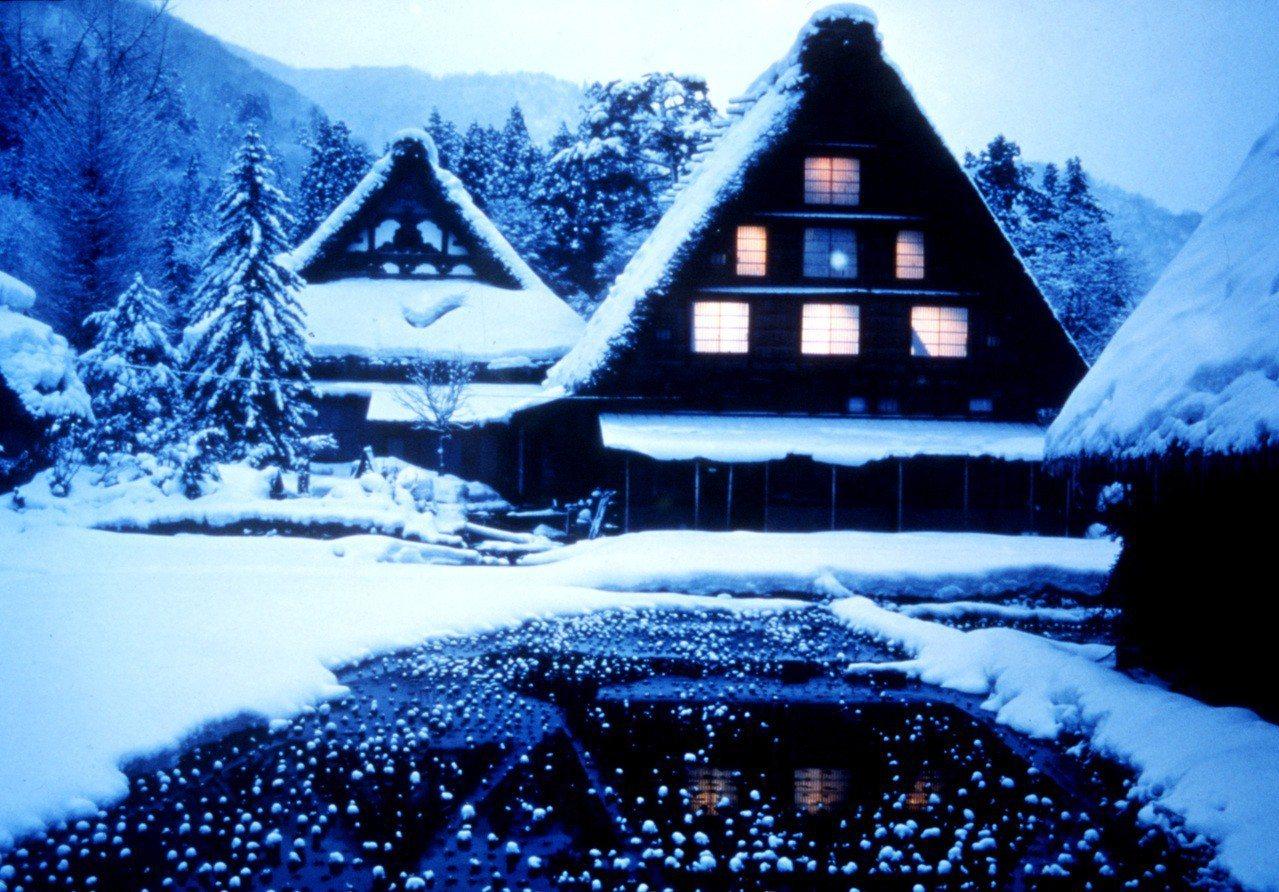 ▲日本冬季點燈活動-白川鄉合掌村點燈。(圖/©JNTO)