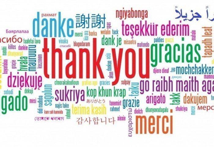 當地語言的你好、謝謝。 圖/維基共享資源