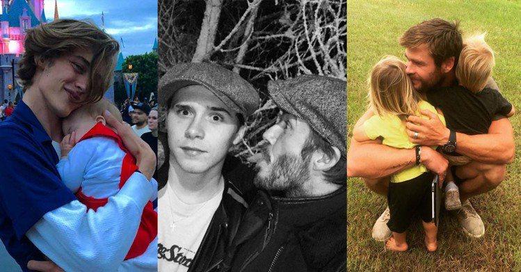 圖/instagram@luckybsmith、davidbeckham、chr...