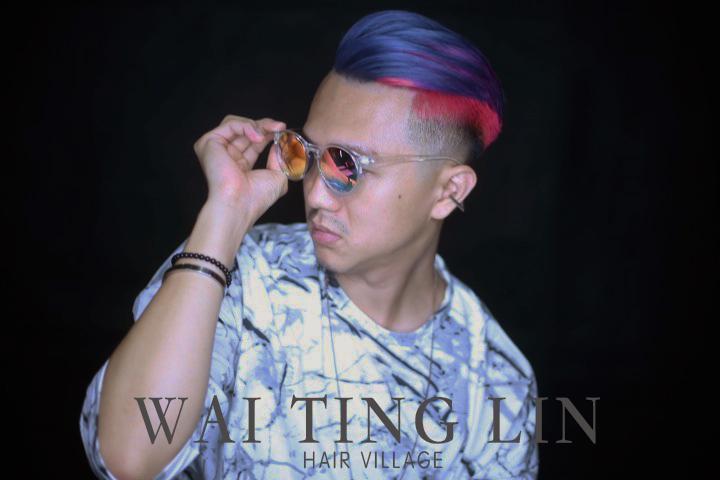 髮型創作/Wai Ting Lin。圖/StyleMap提供