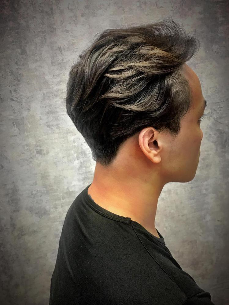 髮型創作/Alvin Lin。圖/StyleMap提供