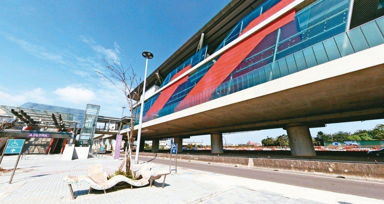 機場捷運A20興南站,進出人口人次少,市府將開發場站周邊活絡地方,目前啟動區段徵...