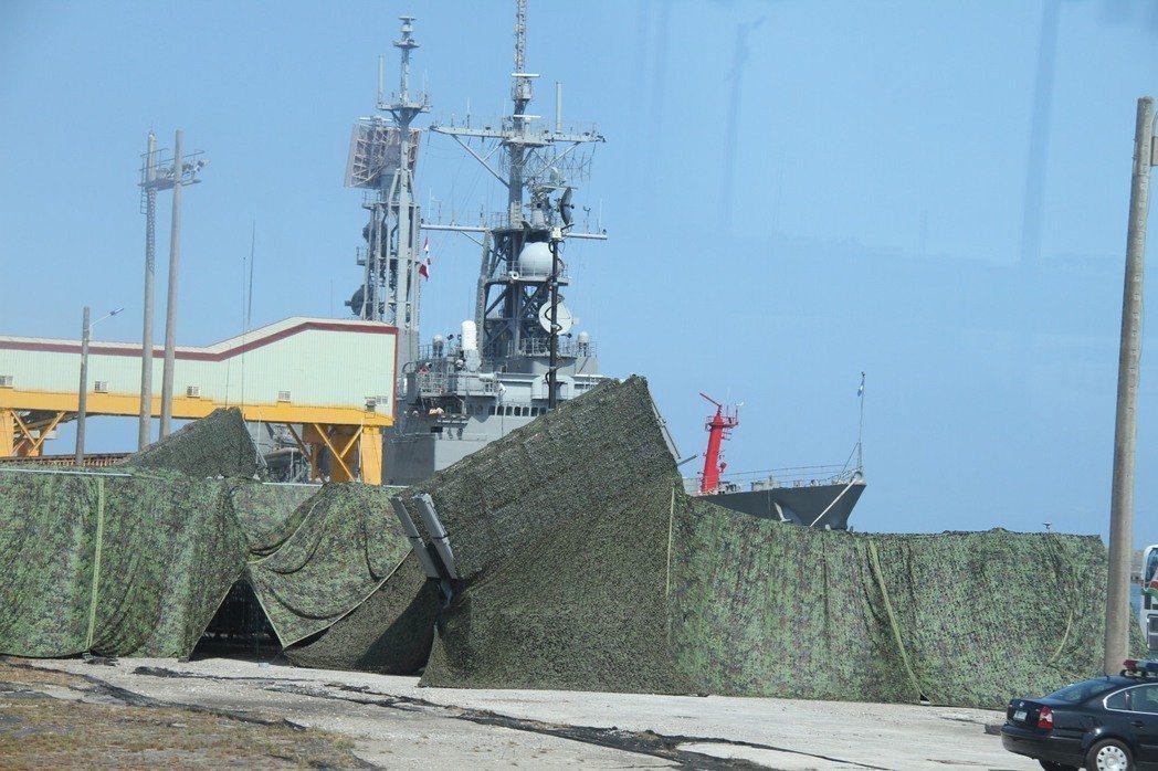 岸置機動雄二反艦飛彈陣地。圖╱軍方提供
