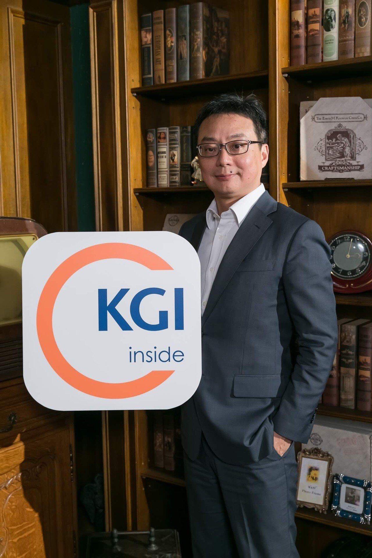 凱基銀行資深副總周郭傑。凱基銀行/提供