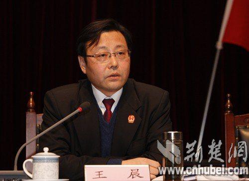 武漢市中級人民法院前黨組書記、院長王晨被開除黨籍和公職(雙開)。(荊楚網)