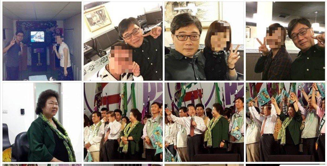 趙嘉寶臉書有不少參與活動的照片。記者林伯驊/翻攝