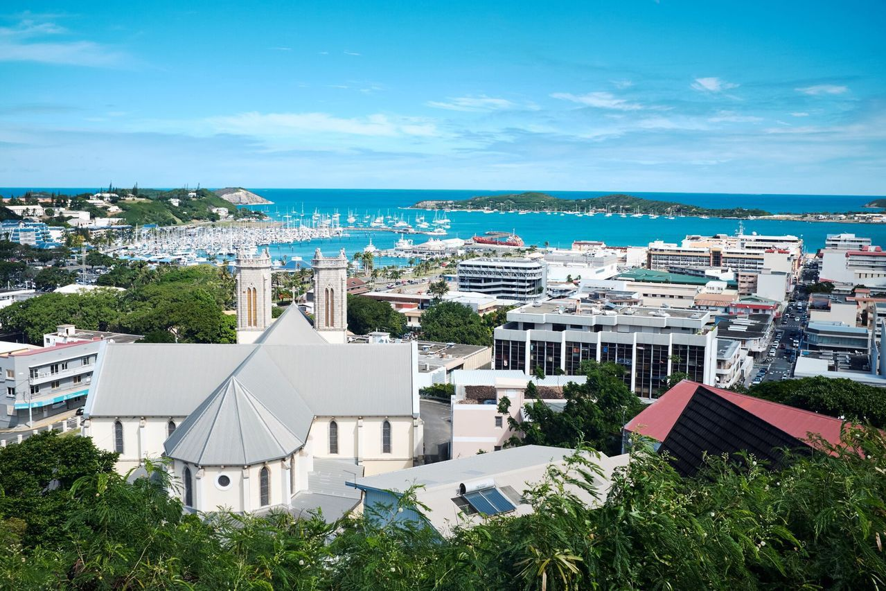 新喀里多尼亞。美聯社