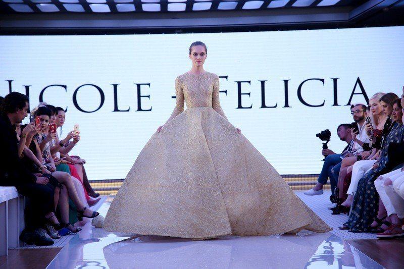 Nicole+Felicia參與杜拜時裝周。圖/Nicole+Felicia提供