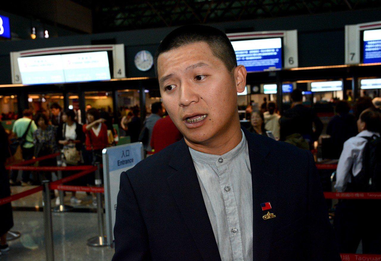 猿隊終結者陳禹勳連三年參加台日對抗交流賽。 記者蘇志畬/攝影