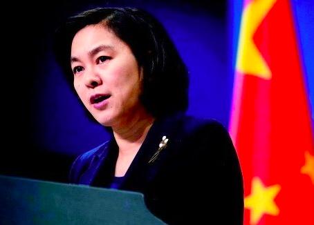 大陸外交部發言人華春瑩。 圖/美聯社資料照