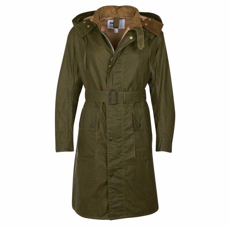 Barbour與Margaret Howell聯名軍裝夾克,19,800元。圖/...