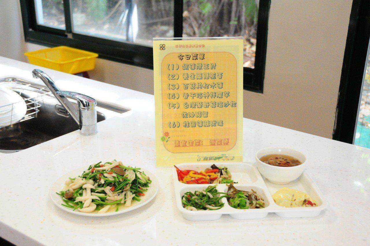 靜宜大學與農委會農試所開發出「養生機能料理」,有中西式,義式、南洋口味等;鎖定發...