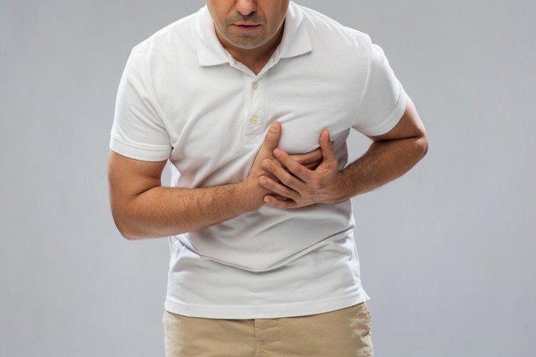 心肌梗塞示意圖/Ingimage
