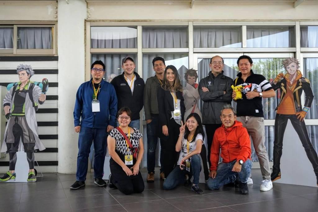 寶可夢遊戲官方工作人員,也對台南留下深刻的印象。圖/台南市觀光旅遊局提供
