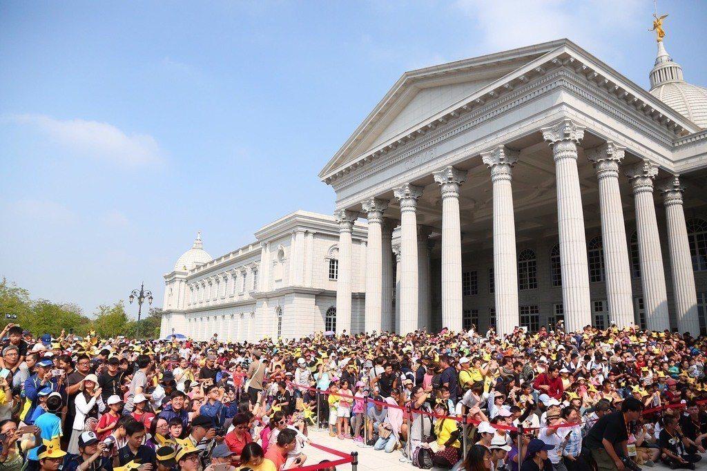 主場地奇美博物館天天擠爆人潮。圖/台南市觀光旅遊局提供