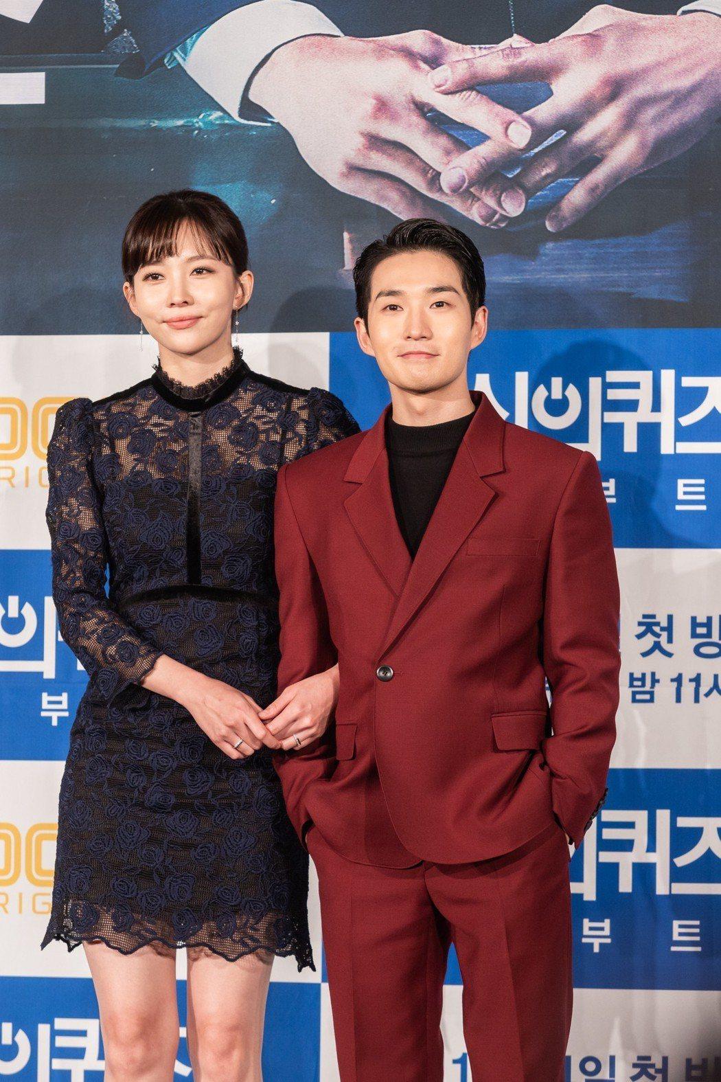 柳德煥和尹周熙默契十足。圖/KKTV提供