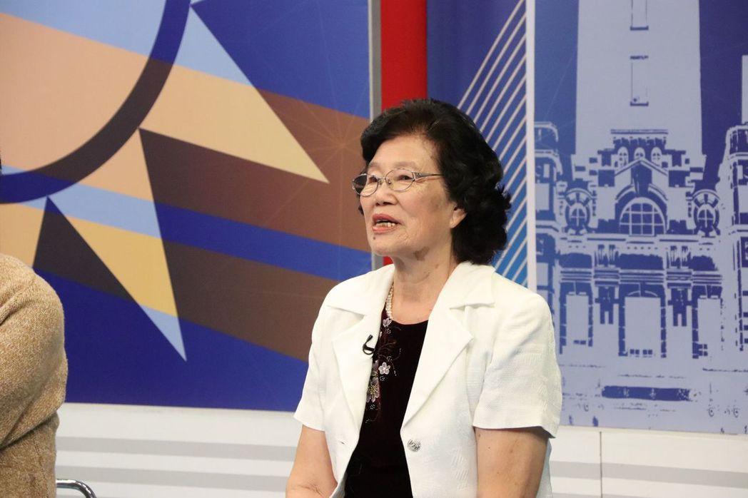 韓國瑜丈母娘擔心選舉奧步。圖/中天提供