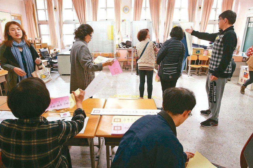 本月廿四日投票日將有十案公投和九合一選舉合併投票,立委憂心可能出現失序情況,對此...