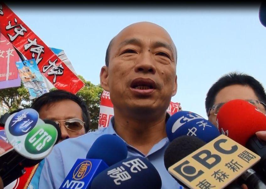 國民黨高雄市長候選人韓國瑜。 圖/聯合報系資料照片