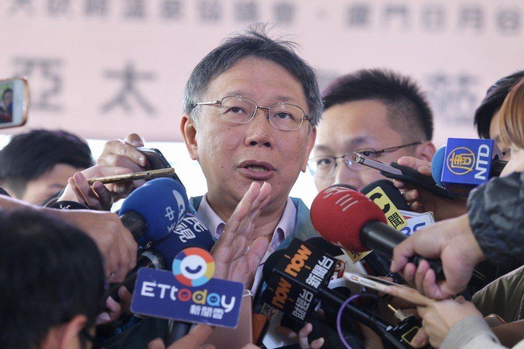 台北市長柯文哲。聯合報系資料照/記者林伯東攝影
