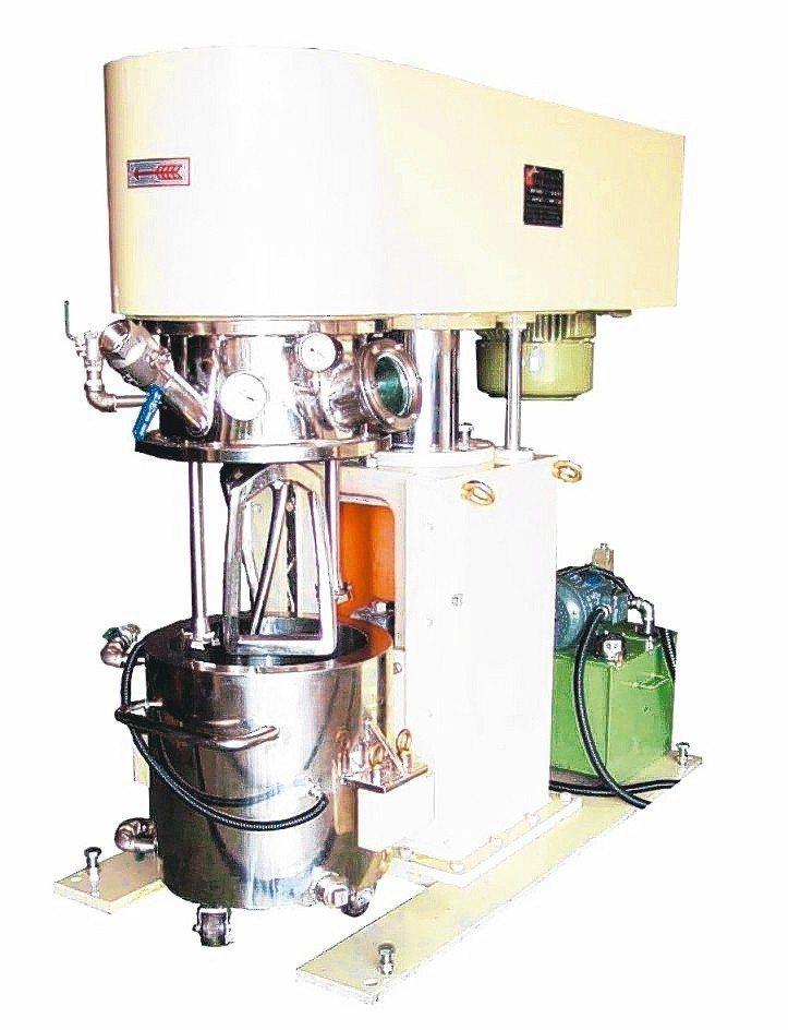 華懋機械各式攪拌與研磨機械設備採最優化、節能、具環保性設計製造。 華懋公司/提供