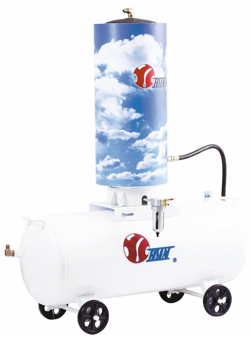 兆義新高效物理空壓式乾燥機,乾燥濾水效果可達99%。 兆義新/提供