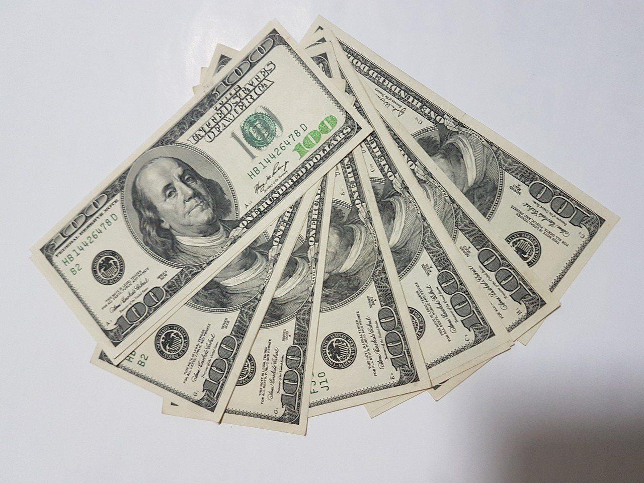 近期美元借款利率飆高,美元借款的企業戶大喊吃不消。聯合報系資料照