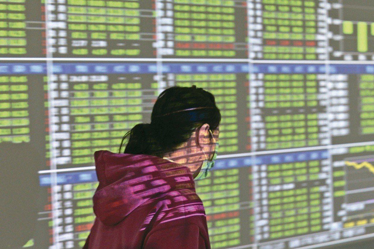 台股收盤指數9,824.95點,下跌64.86點,成交量1,168.8億元。圖/...