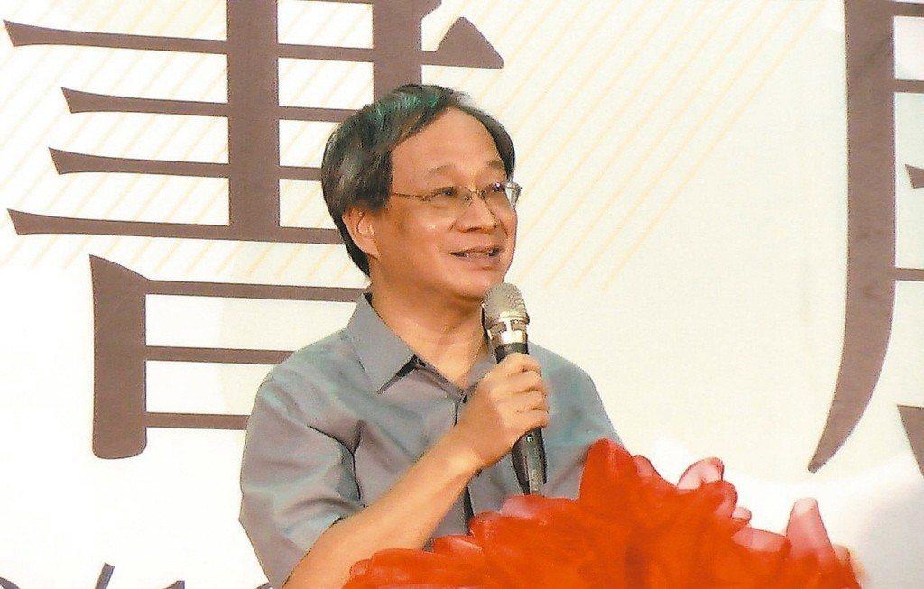 台北市長柯文哲競選總幹事小野。聯合報系資料照