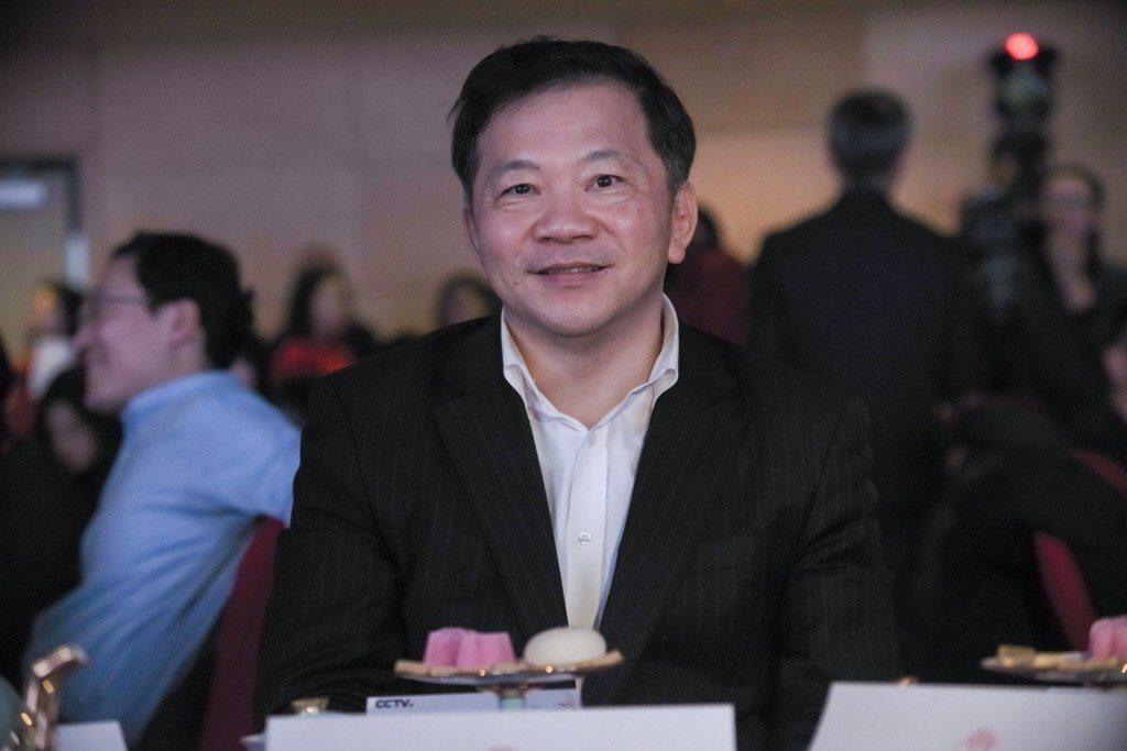中共中央宣傳部副部長、中央廣播電視總台台長慎海雄。 中新社