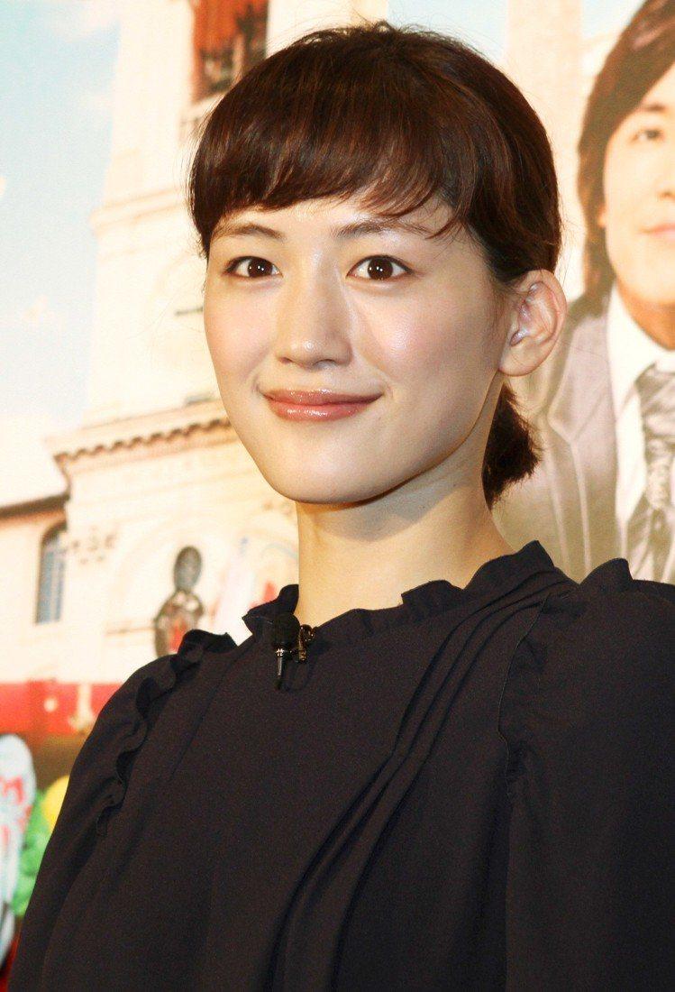 綾瀨遙。圖/記者屠惠剛攝影