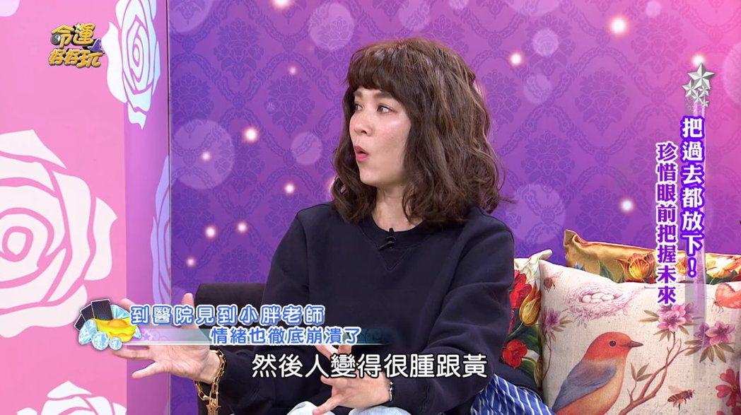 陸元琪談見到袁惟仁在病床的樣子。 圖/擷自Youtube