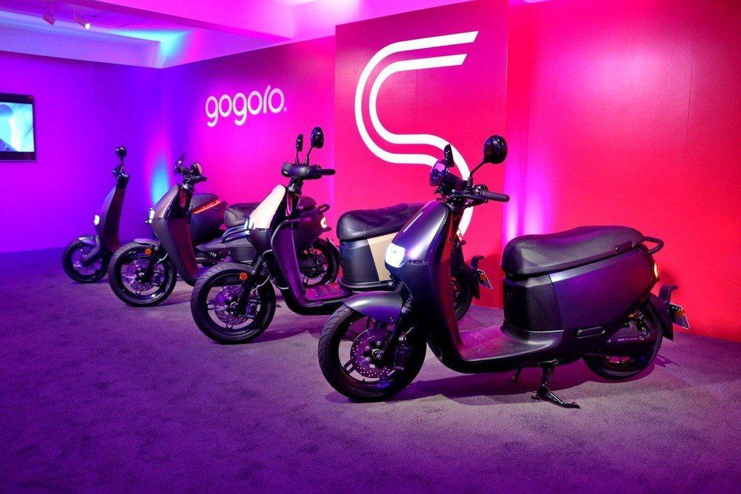 繼Gogoro S1、S2後,Gogoro再針對Gogoro S Performance推出新成員。 記者陳威任/攝影
