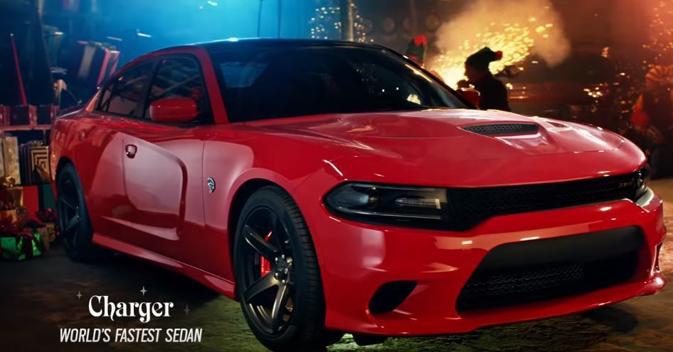 Dodge Charger SRT Hellcat. 摘自 Dodge