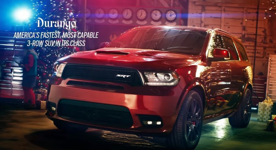 Dodge Durango SRT。 摘自Dodge