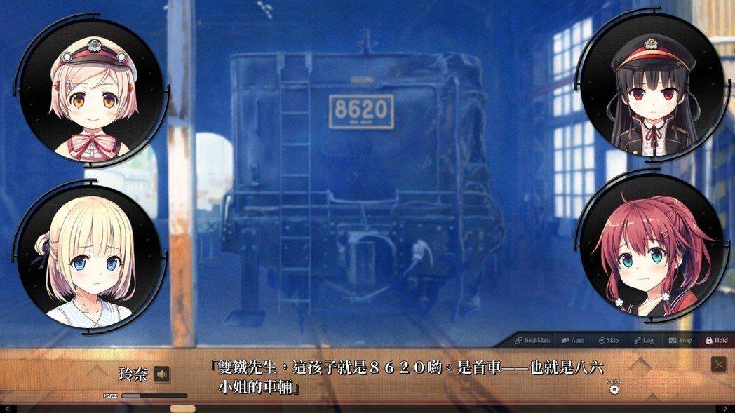 如標題所示,本作的主角不是別人,正是擁有濃厚復古風的火車。