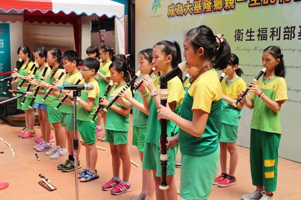 國小音樂課為什麼都要學直笛?引起網友熱烈討論。 圖片來源/聯合報系 記者黃捷攝影