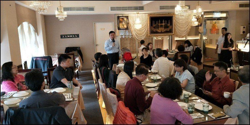 EBI共贏會創始會長徐國雄博士開場致詞。 EBI卓越領袖共贏會/提供