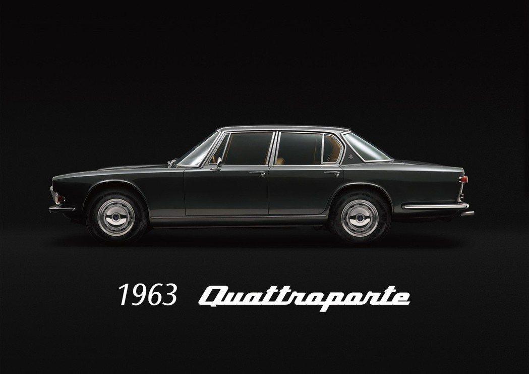 第一代Quattroporte於1963年義大利誕生,為史上首部配置賽車引擎的四...