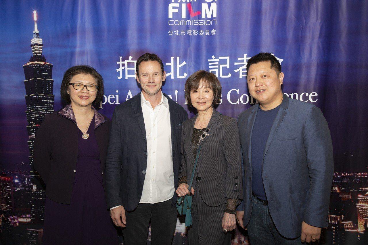 台北市電影委員會於4日舉辦成立十週年記者會。