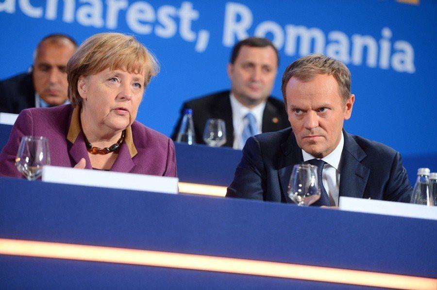 前波蘭總理、歐洲理事會主席圖斯克擔心,波蘭退出聯合國難民協議後,下一步可能是退出...