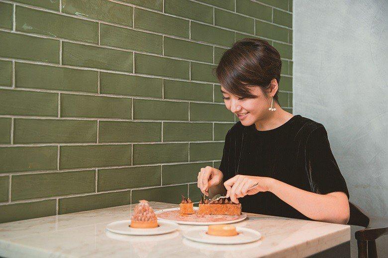 「畬室」為高琹雯最常光顧的甜點店之一。