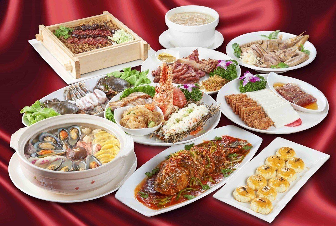 晶宴會館「筵席攻略」聚餐專案,11月桌菜買一送一。