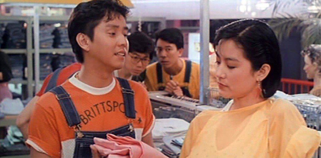 譚詠麟與林青霞在「君子好逑」有絕妙對手戲。圖/摘自fareastfilms