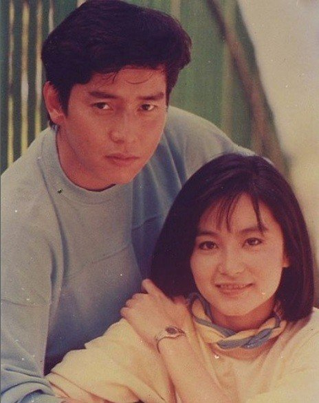 譚詠麟與林青霞在「君子好逑」頗為登對。圖/摘自微博