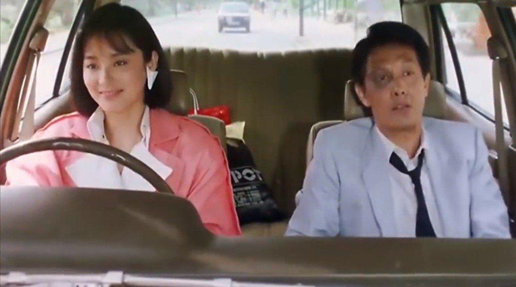 林青霞與張國柱在「君子好逑」扮演未婚夫妻。圖/翻攝自YouTube