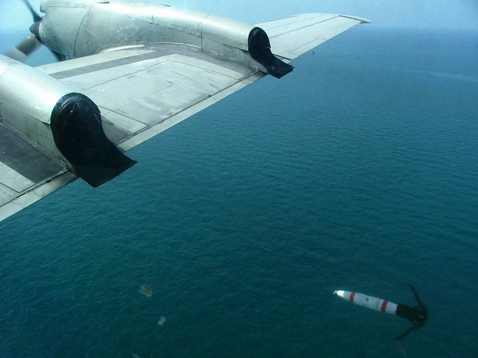我國採購MK62空投水雷是供P-3C掛載使用。圖/美國海軍官網