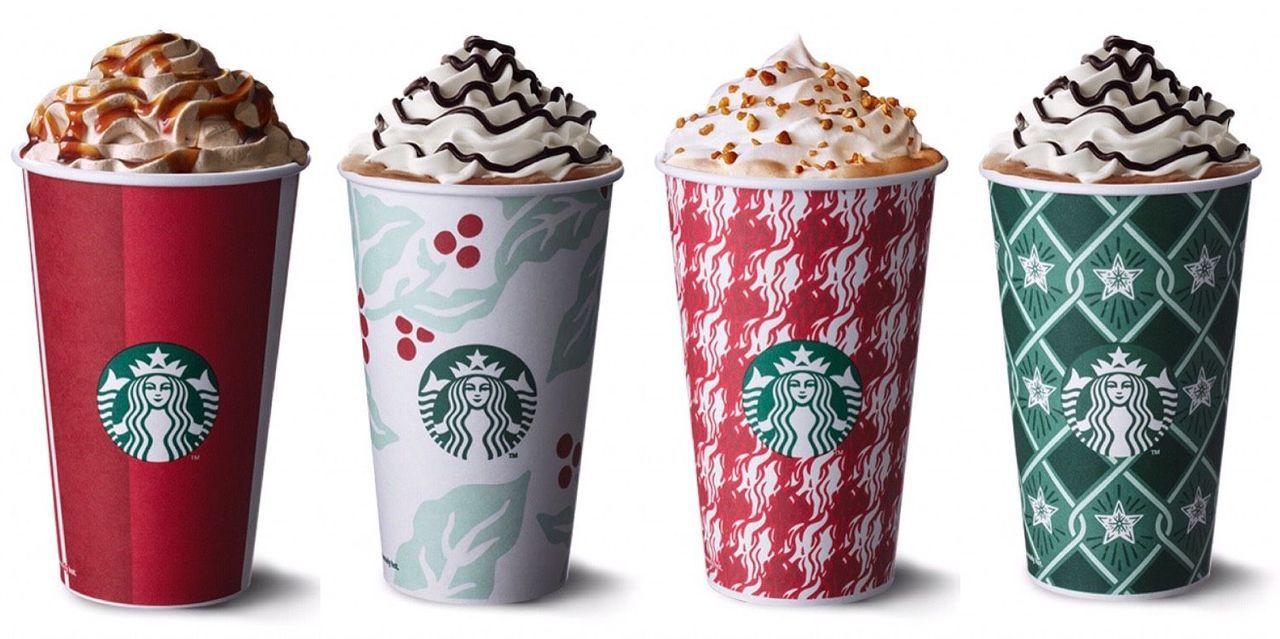 星巴克推出4款耶誕飲品。圖/星巴克提供