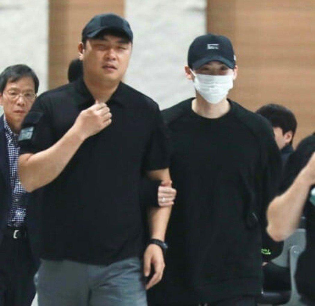 李鍾碩一早回到韓國。圖/摘自IG